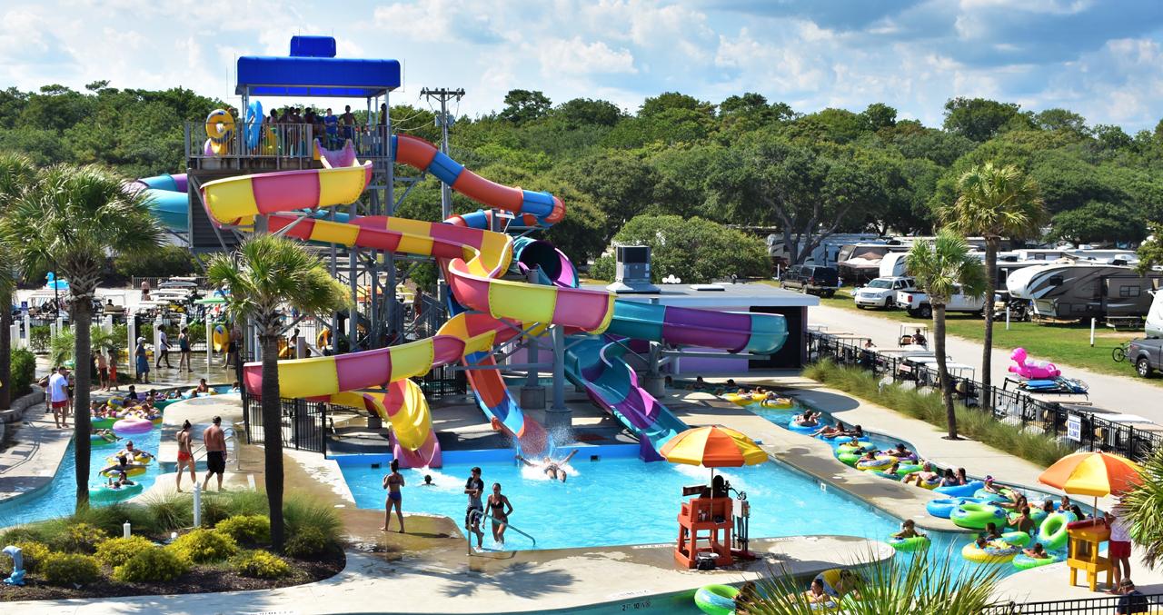 Myrtle Beach Water Park - Campground In Myrtle Beach - Lazy