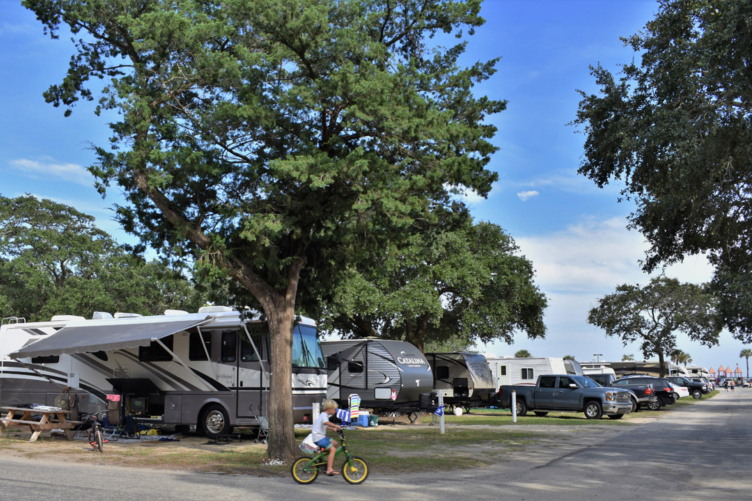 Myrtle Beach Lakewood Family Campground Rentals
